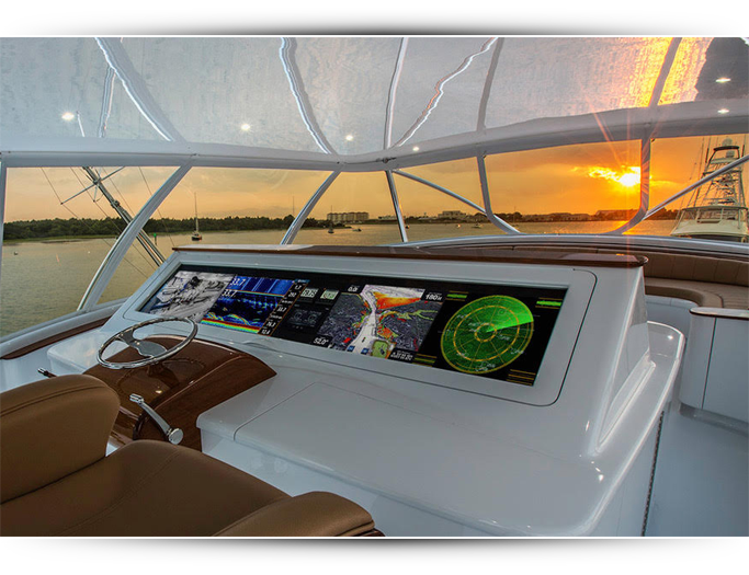Navigation with Custom Marine Electronics