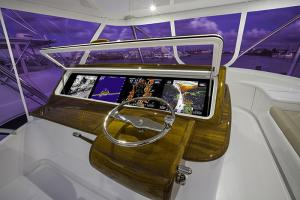 Helm display - Custom Marine Electronics