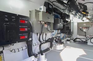 Helm wiring - Custom Marine Electronics