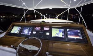 Garmin helm display - Custom Marine Electronics