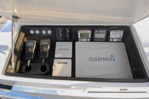 Tower console - Custom Marine Electronics