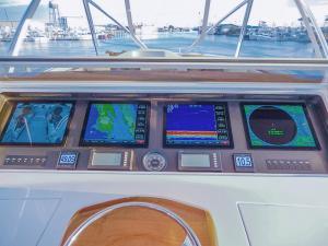 Aydin helm display - Custom Marine Electronics